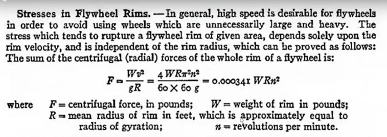Significance of Rim (Edge) Velocity